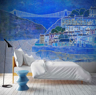 custom wallpaper murals