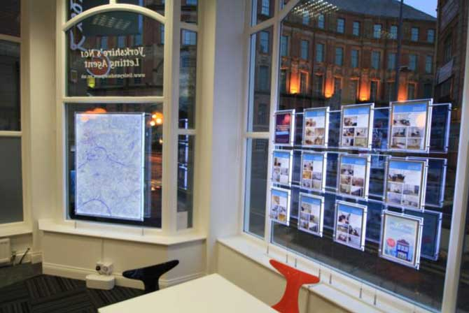 displays for estate agents
