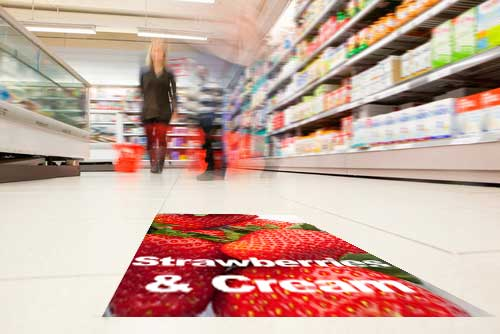 Supermarket Floor Graphics