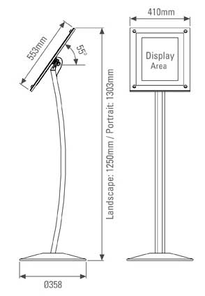 adjustable display