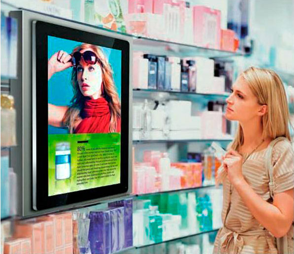 digital display screens