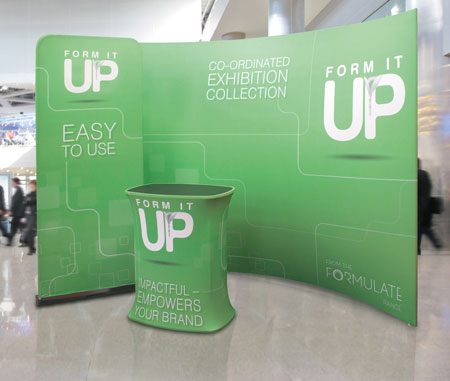 Portable Exhibition Banners : Portable display stands modular display systems