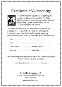 Certificate of authenticity fine art for Certificate of authenticity photography template