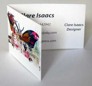 Folding business card printing folding business card m4hsunfo
