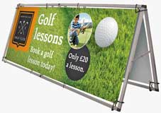 Single Sided Aluminium  Banner Frames