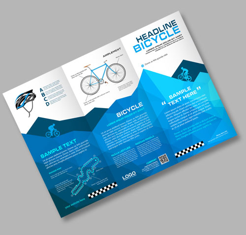 a4 folded leaflet and flyer printing